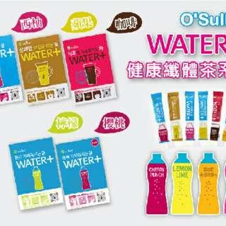 韓國O'Sulloc water+-健康纖體茶系列30入【現貨】