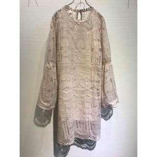 ✨現貨✨氣質優雅兩件式洋裝