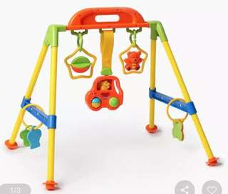 Baby's Activity Rattle Play Gym