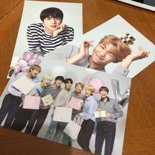 BTS x VT postcard