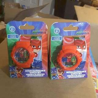 PJ Mask Interchangeable Watch Set