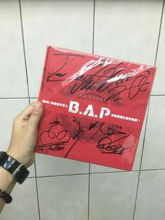 B.A.P No Mercy 韓版簽名專輯