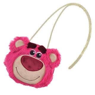 熊抱哥金鍊條包 側背包 玩具總動員 日本迪士尼代購 皮克斯