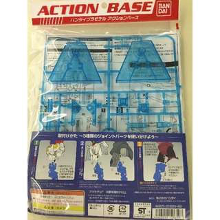 Bandai Action Base 2 - Clear Blue, Sparkle Clear Green