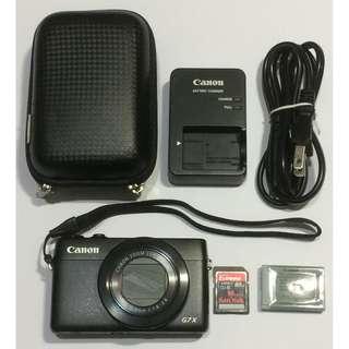 Canon G7X 數位相機