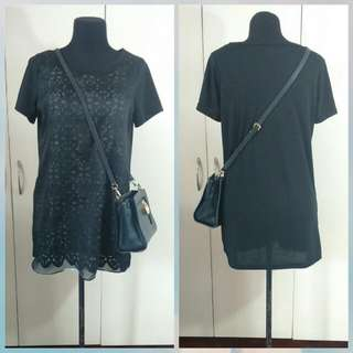 Preloved Korean Tshirt Dress