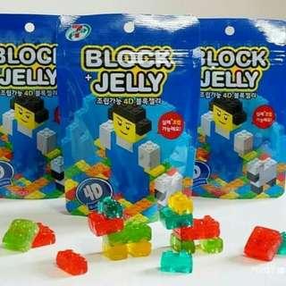 韓國限定 4D LEGO樂高積木軟糖【現貨】