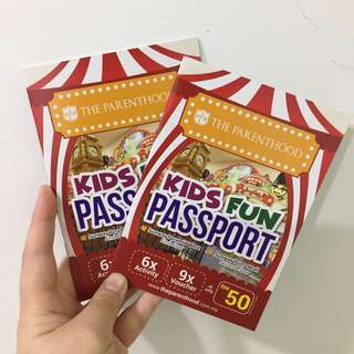 (REDUCED) Parenthood Kid Fun Passport