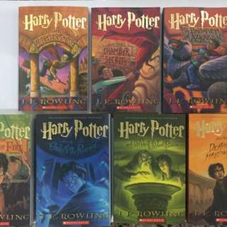 Harry Potter Series Set (7 books in a set)