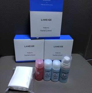 Laneige Trial Kit ( Brightening )