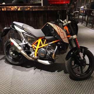 2013年 KTM Duke 690 只跑七千多公里 可分期 免頭款