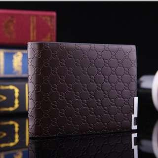 Embossed men wallet