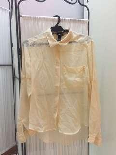 Hnm sheer blouse