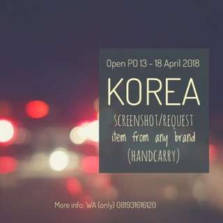 Open PO Korea
