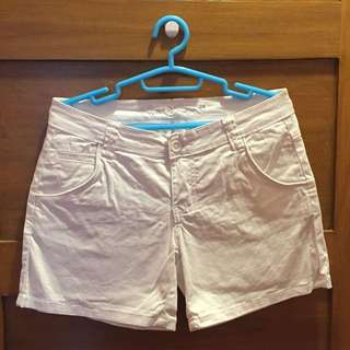Crissa White Shorts