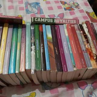 Wattpad and PSICOM books