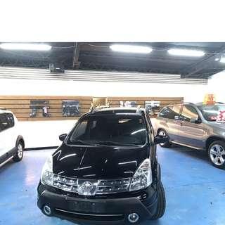 2013 NISSAN LIVINA 1600cc  20.8萬~~  非自售 一手 女用車