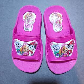 Pink Paws Patrol Slippers