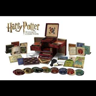 Harry Potter Wizards Collection Bluray and DVD Boxset