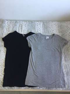 2 for $10 Bundle H&M Long Tee