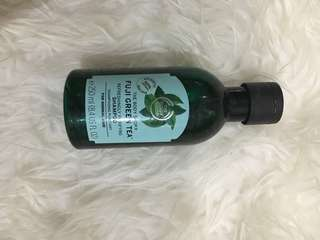The body shop fuji green tea shower gel