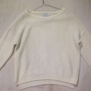 Cottonink White Sweater