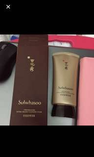 Sulwhasoo Time Treasure Extra Creamy Cleansing Foam