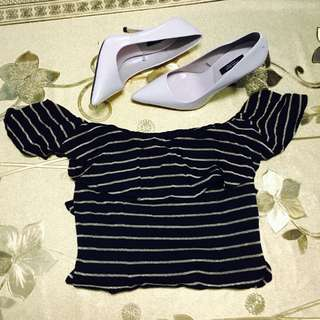 Off-Shoulder Long Dress