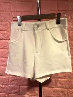 ❤️全新白色彈性短褲