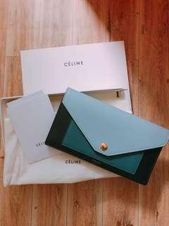 Celine wallet 信封包 銀包