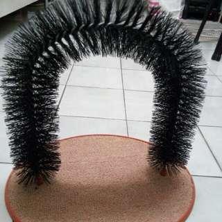 貓咪蹭毛拱門按摩梳