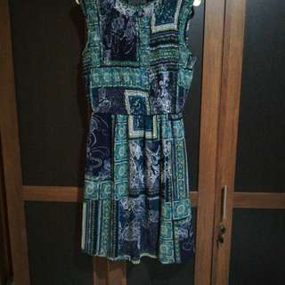 Dress chiffon enfocus
