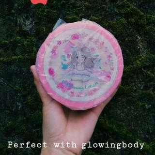 lotion pemutih glowingbody ukuran size 125 ml
