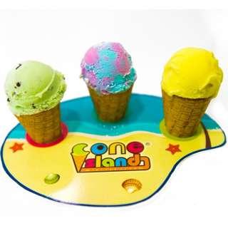 "Mini Ice Cream on Cone - ""Live Station"""