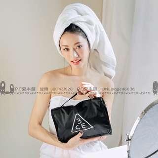 韓國連線預購3CE 大容量洗漱化妝包