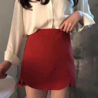 文青感棉麻料自然皺折連身裙