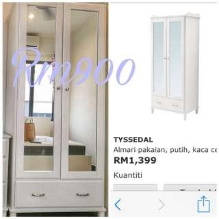 Tyssedal mirror wardrobe
