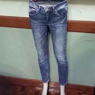 Petrol Skinny Jeans