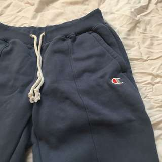 Blue Champion ankle sweat pants size small/medium