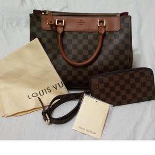Promo Set SALE!! Partner Louis Vuitton Bag & Wallet