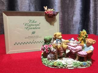 The Natural Garden Teddy Bears Clay Decor 熊仔花園裝飾品