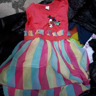 Colorful dress 2-3 yrs old