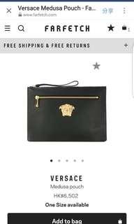Versace新款手提袋九成新