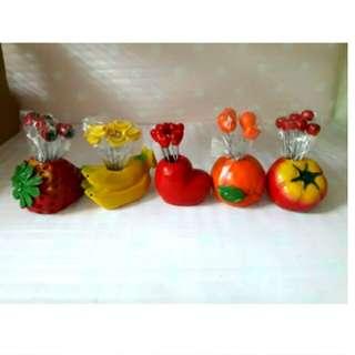 6入水果叉組
