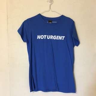 ViewFinder 寶藍色T恤