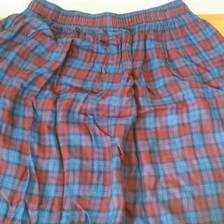 Abercrombie and Fitch plaid skirt