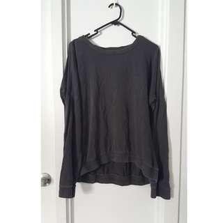 Dark grey pullover