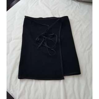 Ricochet wrap skirt
