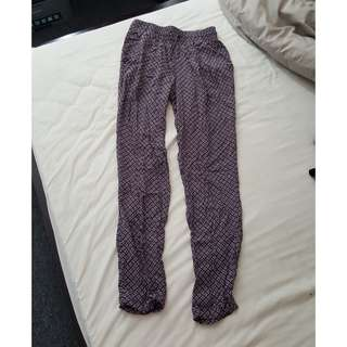 Zara pattern pants