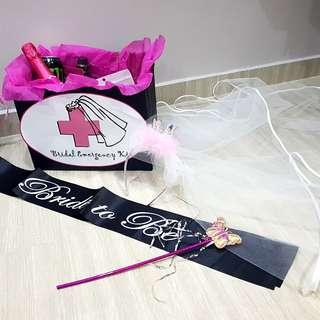 Hen Night Package (veil, sash, wand, gift box)